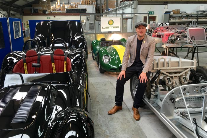 LISTER MOTOR COMPANY ANNOUNCE LIMITED RUN OF LISTER KNOBBLY STIRLING MOSS EDITIONS