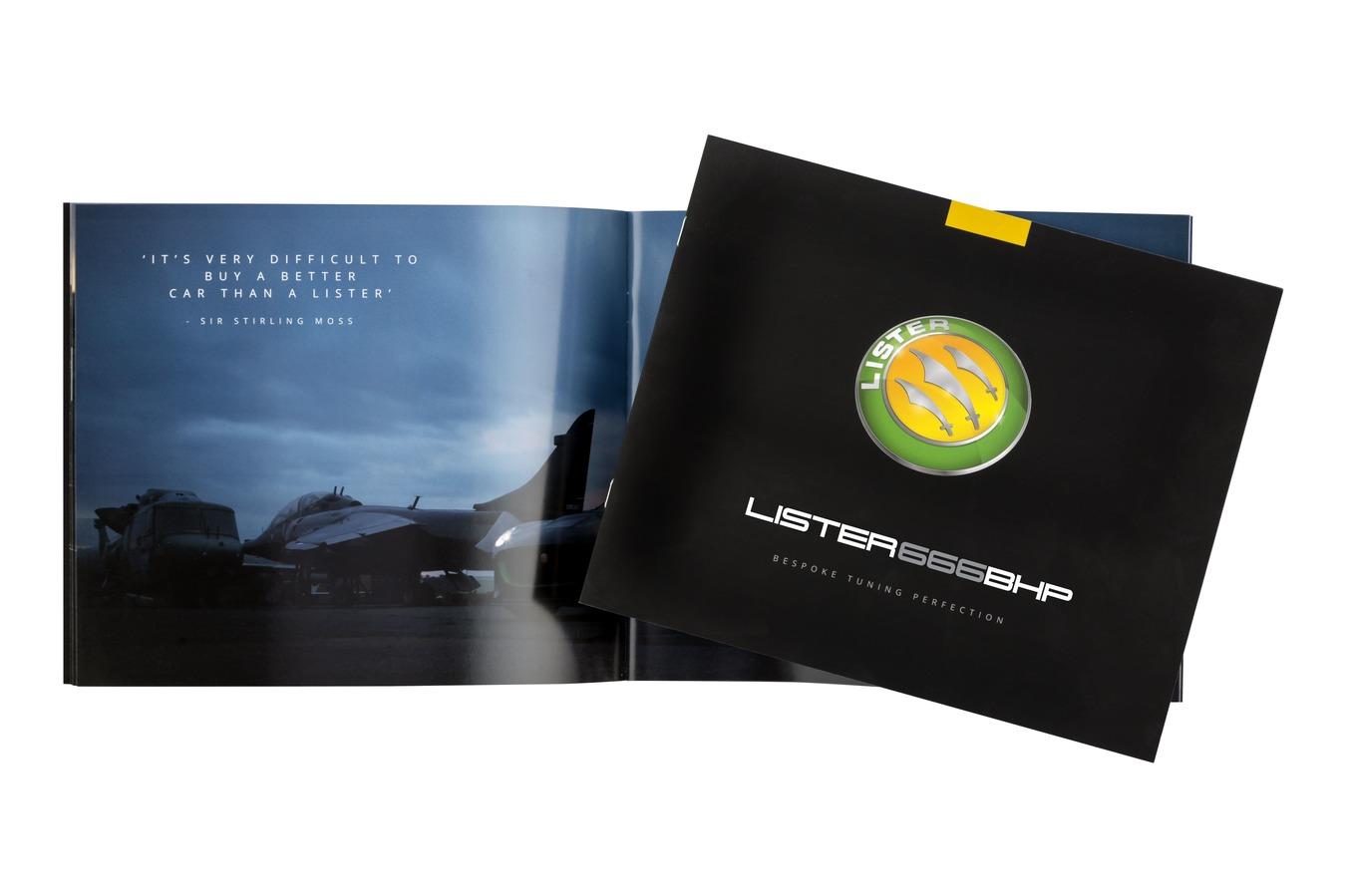 Lister 666bhp Brochure