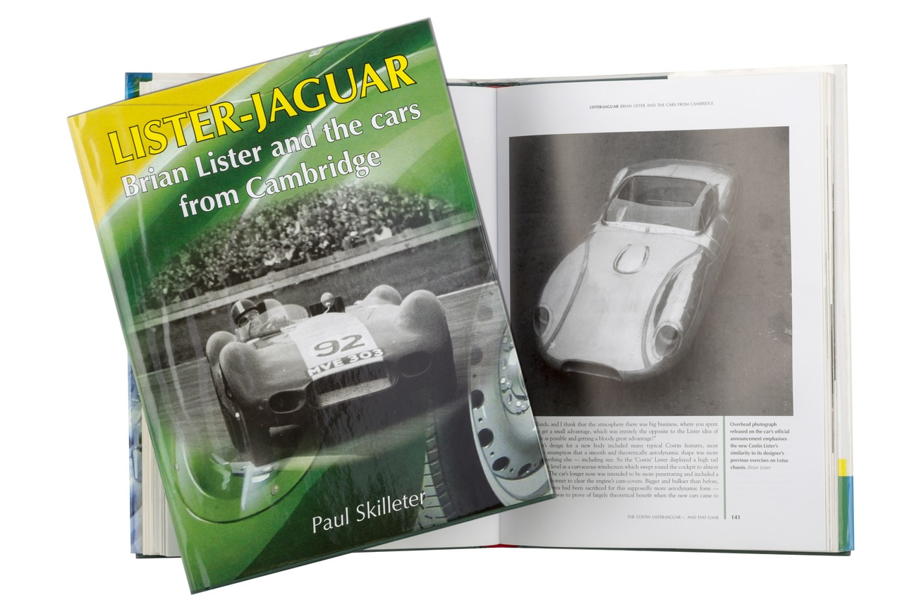 Lister Jaguar Book