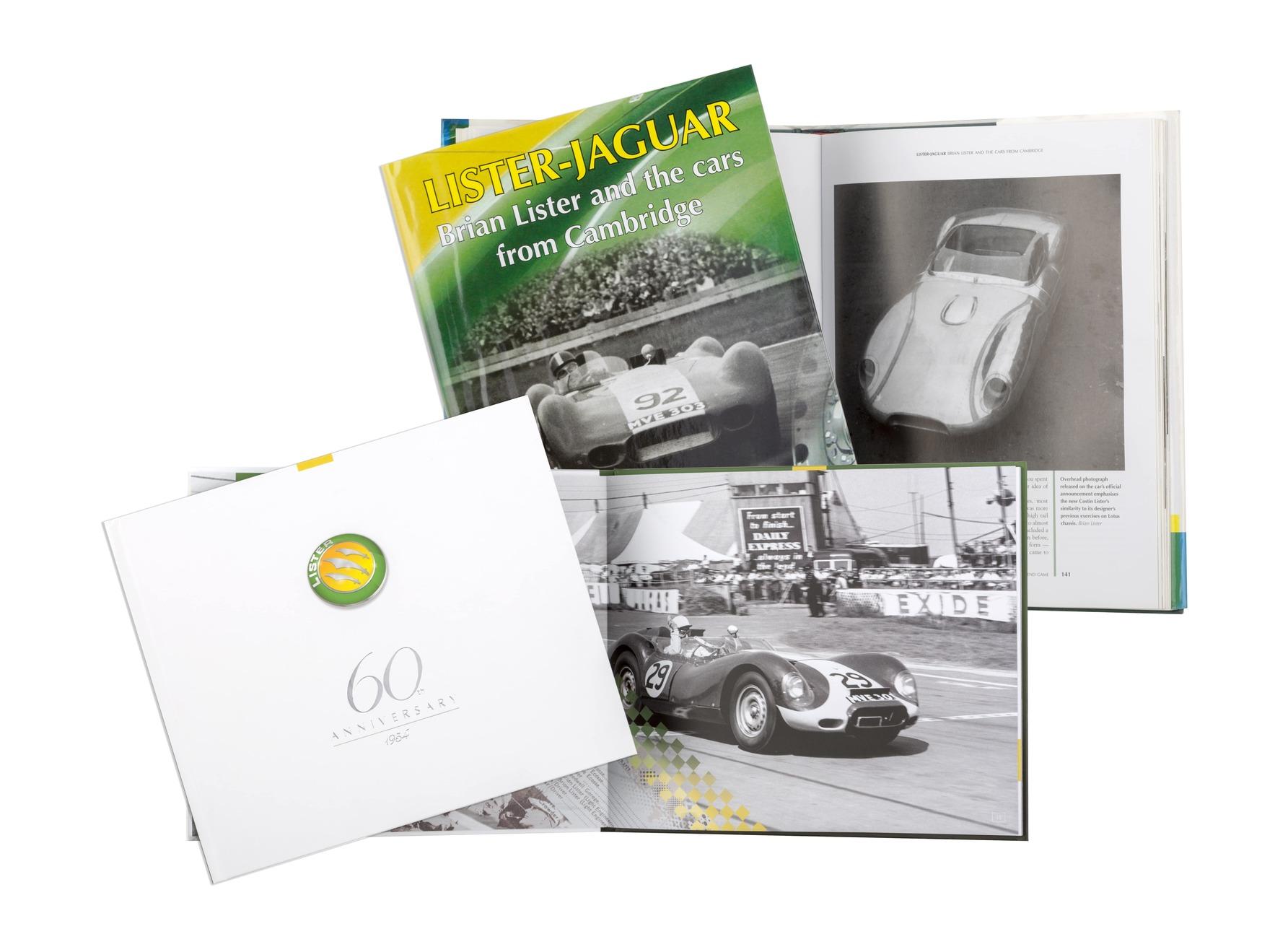 Lister Jaguar Book