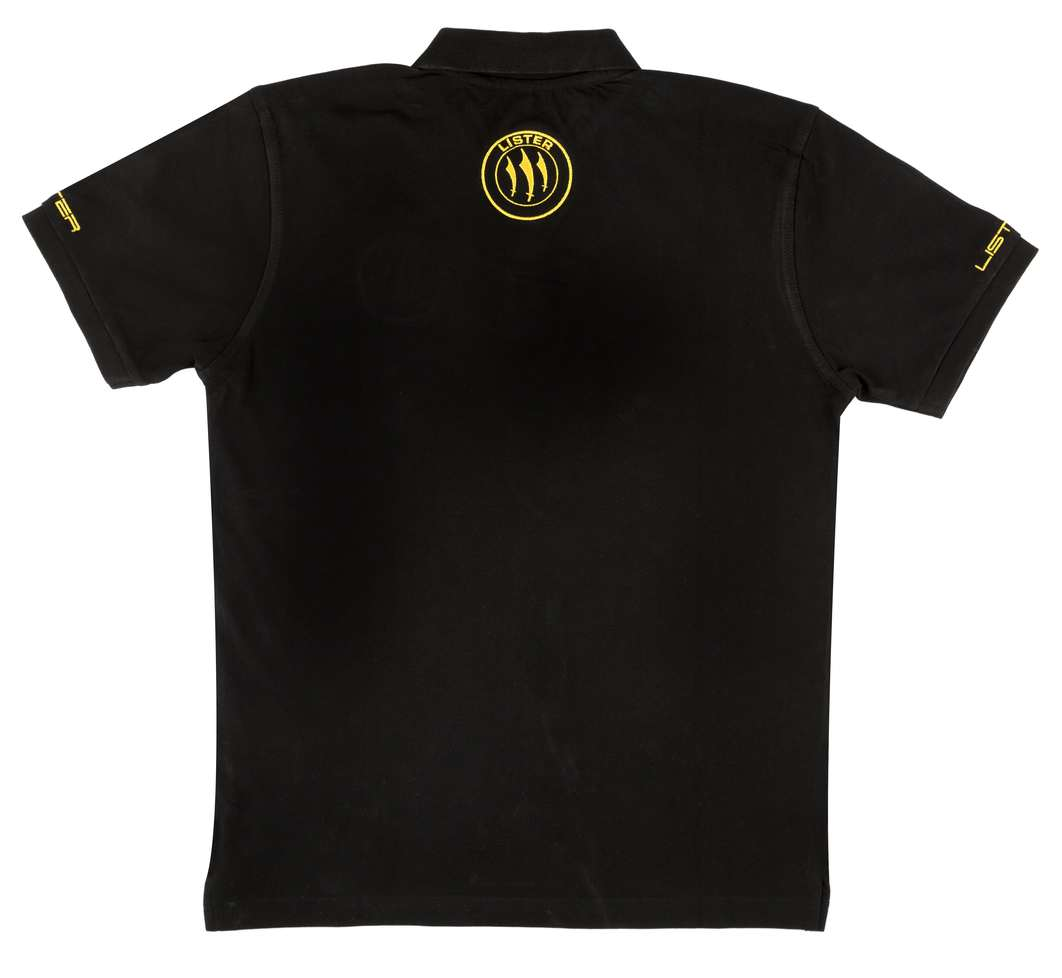 Lister Polo Shirt Black