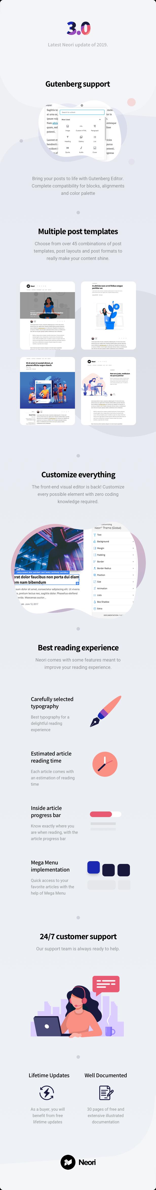 Neori - News and Magazine WordPress Theme - 2