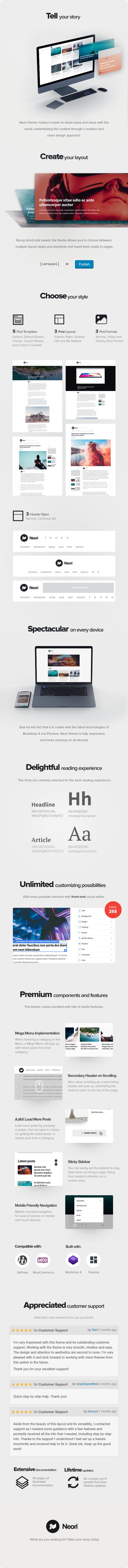 Neori - News and Magazine WordPress Theme - 4