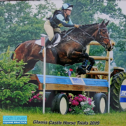 Flash and Sarah are Back on Track at Glamis Castle Horse Trials