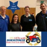 Sarcoid and Wound Talk Raises £281 for Vets With HorsePower