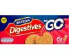 McVities To Go Original Digestives 6 TWIN Packs