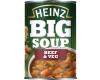 Heinz Big Soup Beef & Veg