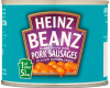 Heinz Baked Beans With Pork Sausages