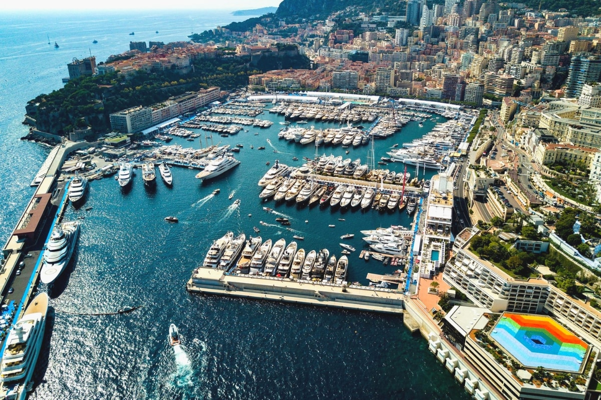 Monaco Yacht Show The French Riviera