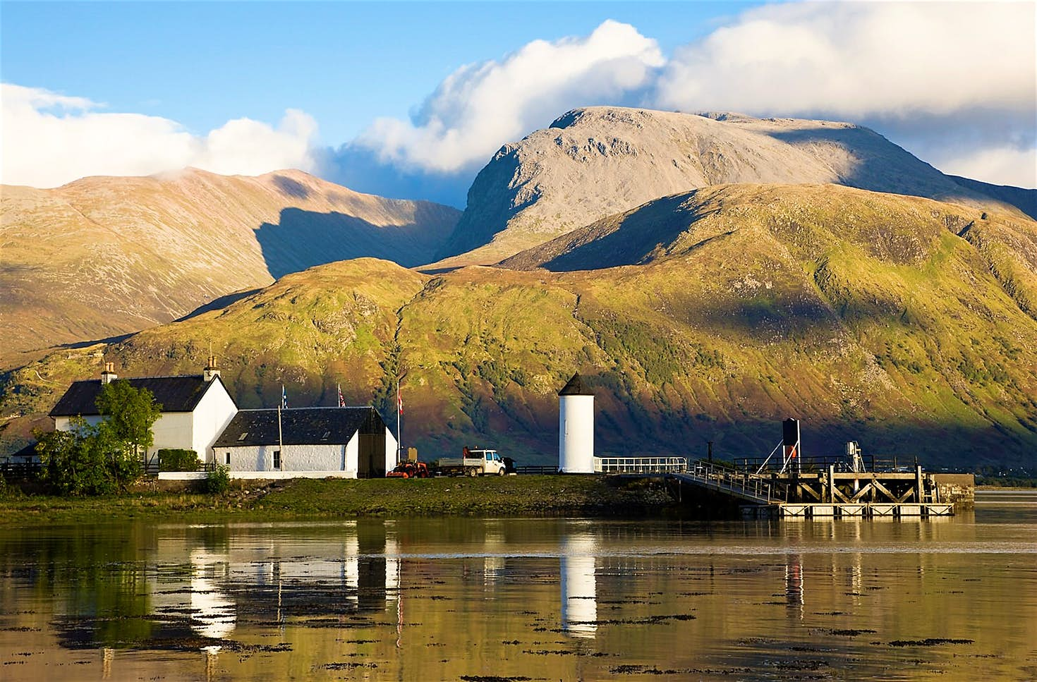 Great Glen distillery in Highlands of Scotland