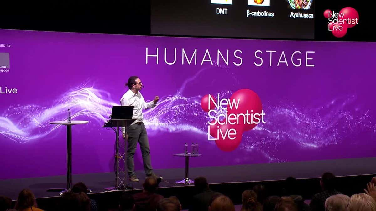 Speaker at New Scientist Live