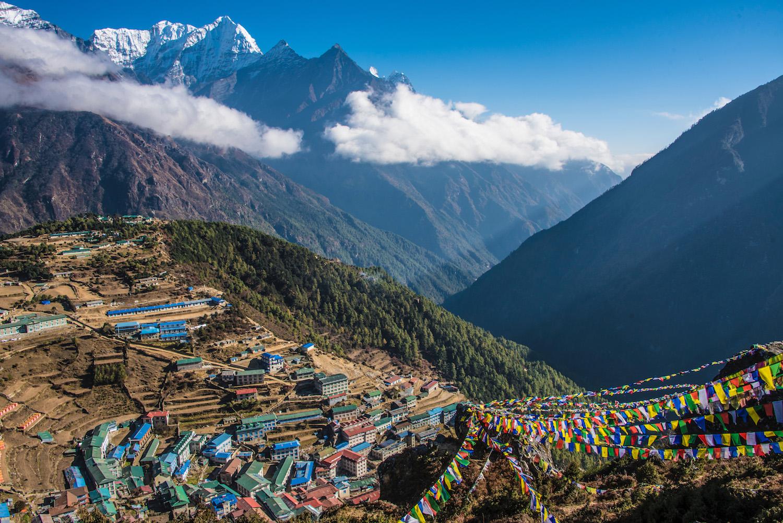 Lukla village on Everest Base Camp Trek