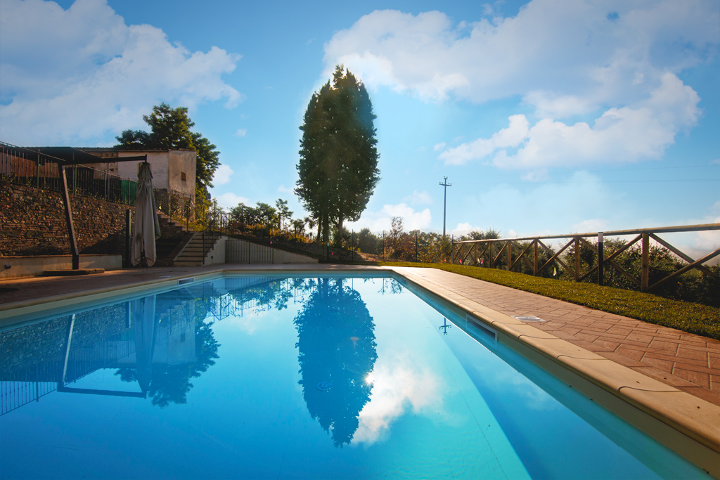 Pool at Wine and Cooking under the Tuscan Sun