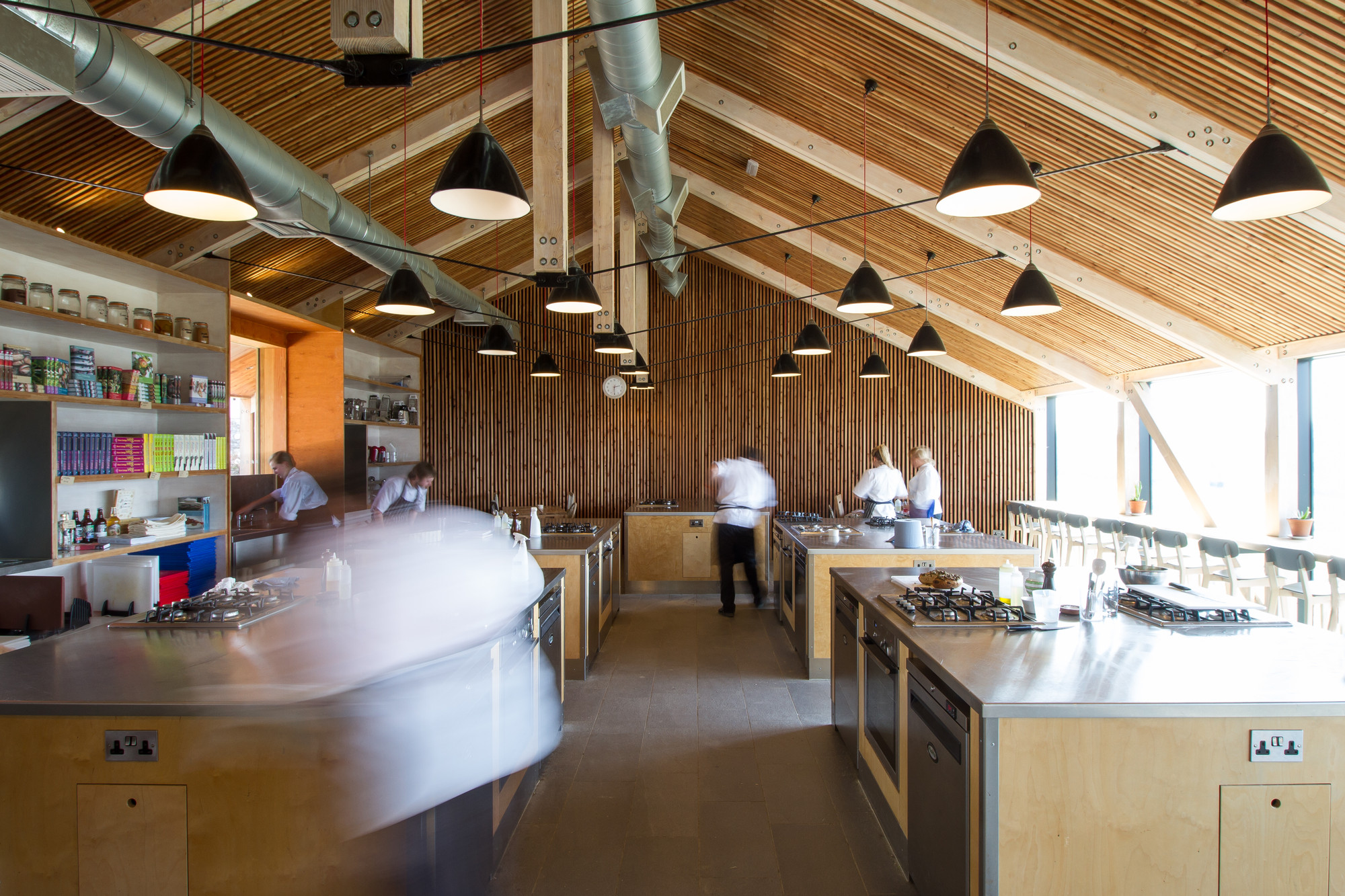 Inside River Cottage Cookery school
