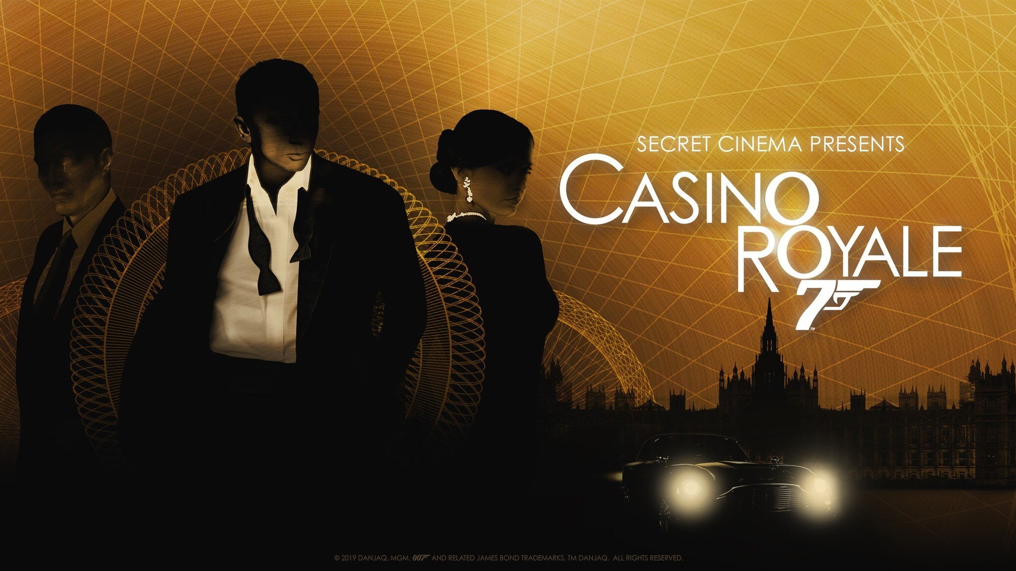 Poster for Casino Royale Immersive Cinema Experience