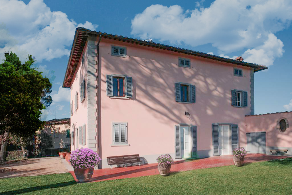 Villa at Wine and Cooking under the Tuscan Sun