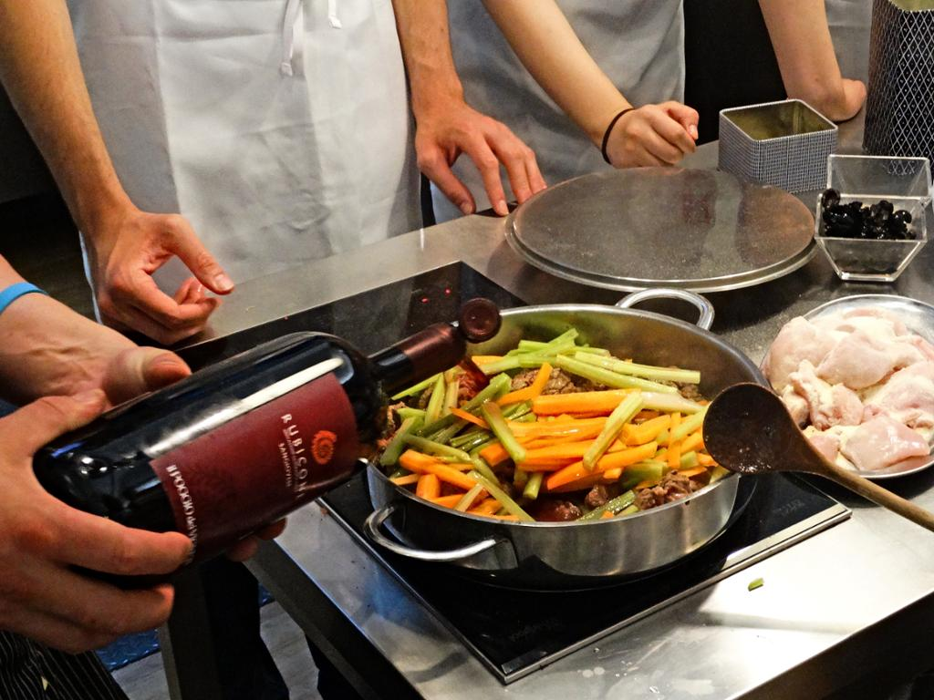 Wine and Cooking under the Tuscan Sun