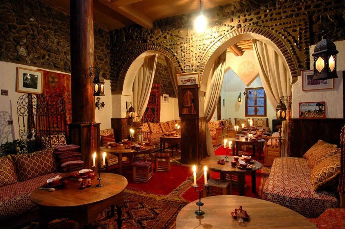Kasbah Mountain Refuge Interior