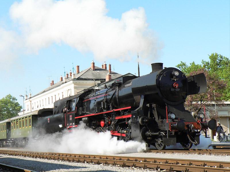 Slovenia steam train journey