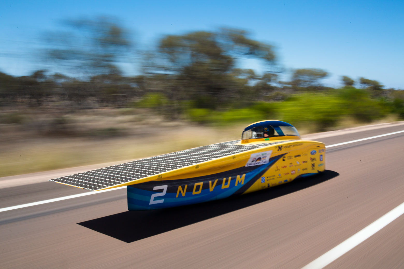 Bridgestone World Solar Challenge car