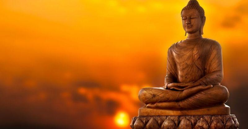 Buddha Discourse, music and meditation