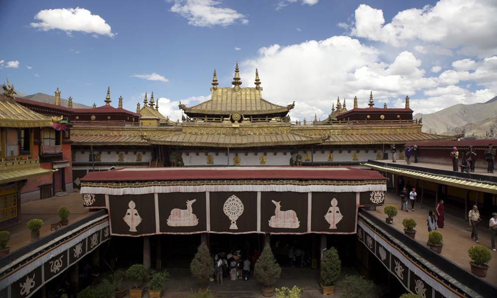 Hidden Treasures of Tibet gold roof temples