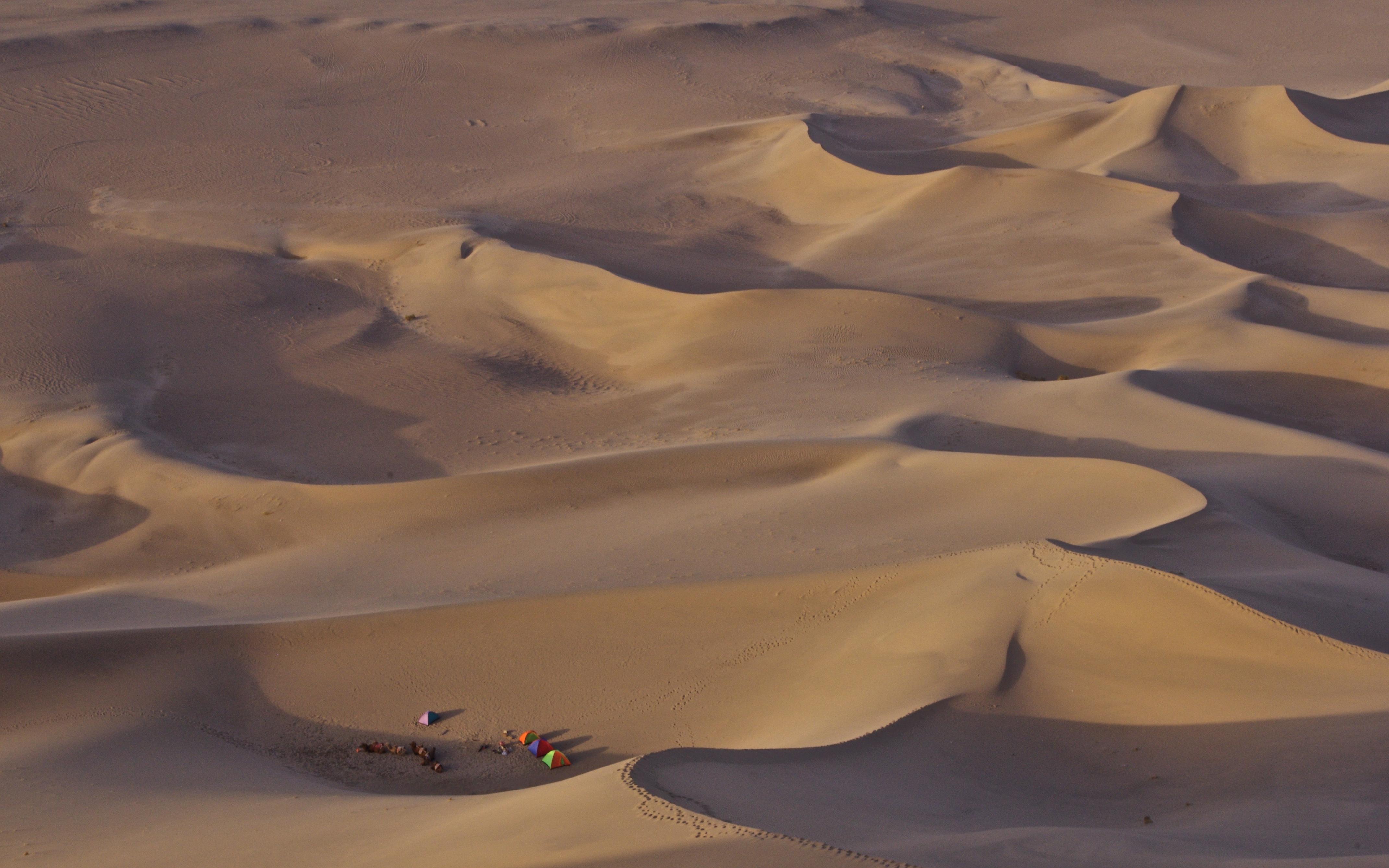 Sand dunes of the Gobi Desert
