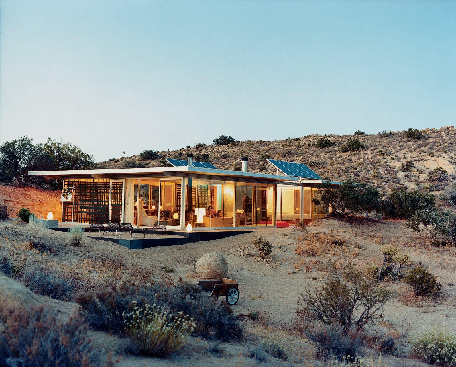 Outside view of Off-Grid itHouse