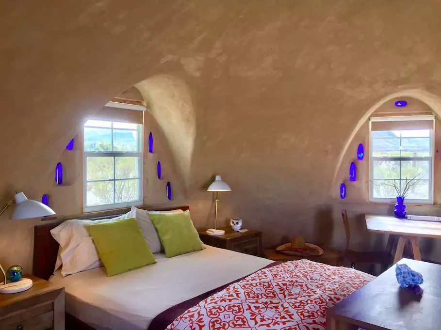 room at Adobe Desert Dome