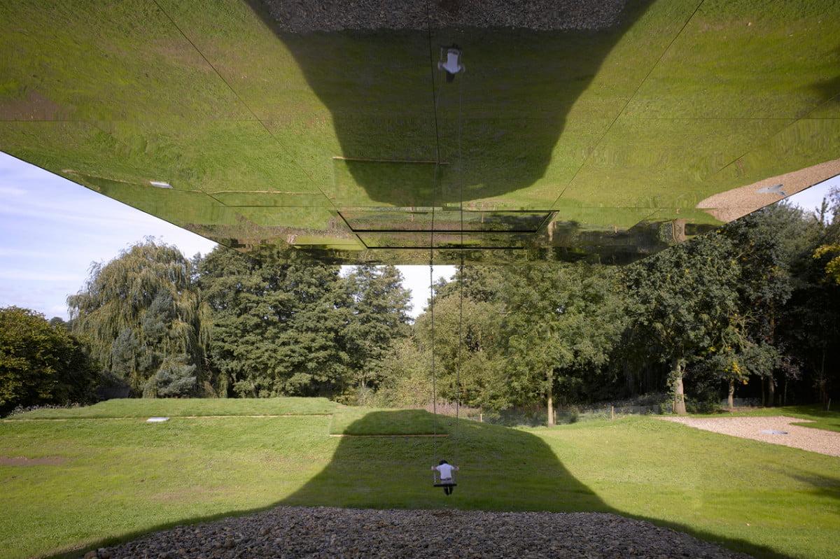Swing under The Balancing Barn