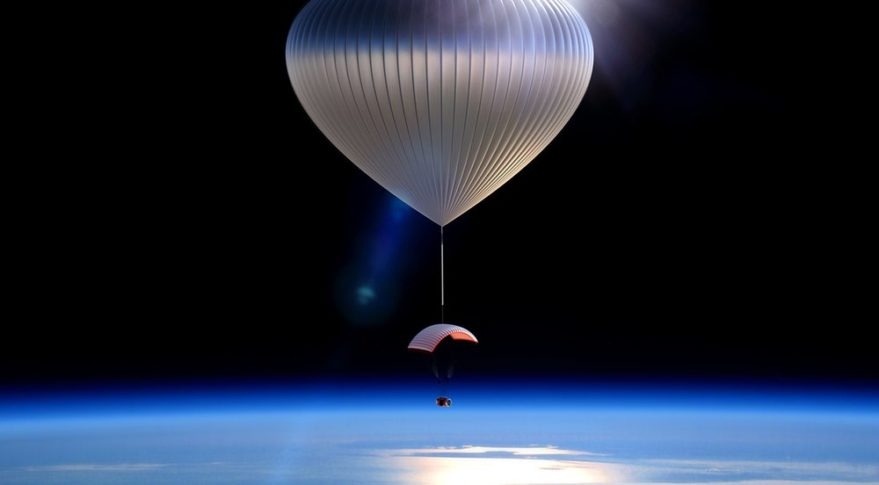 High Altitude Balloon Ride