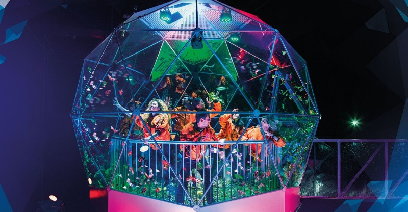 Contestants at The Crystal Maze Experience