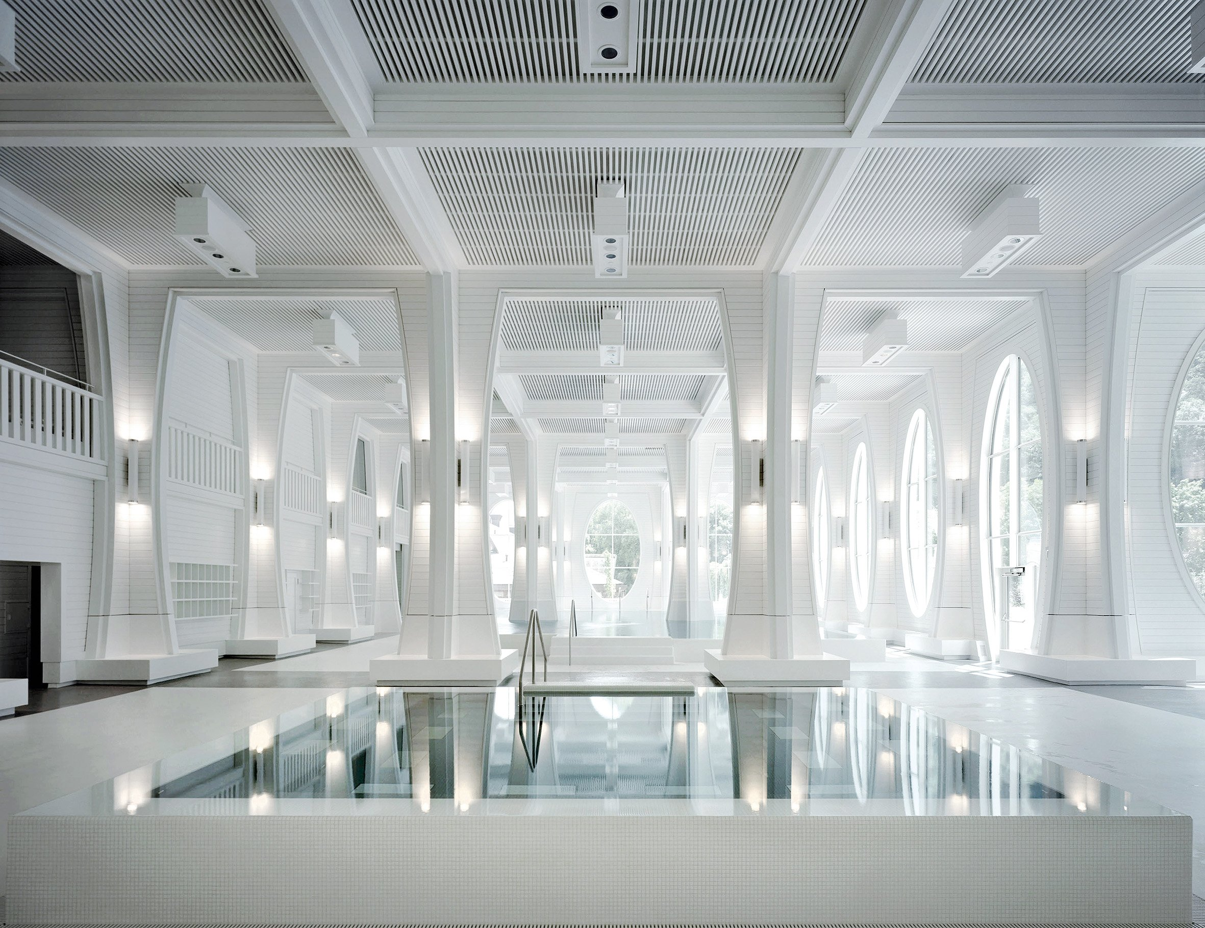 Indoor pool at GRAND RESORT BAD RAGAZ