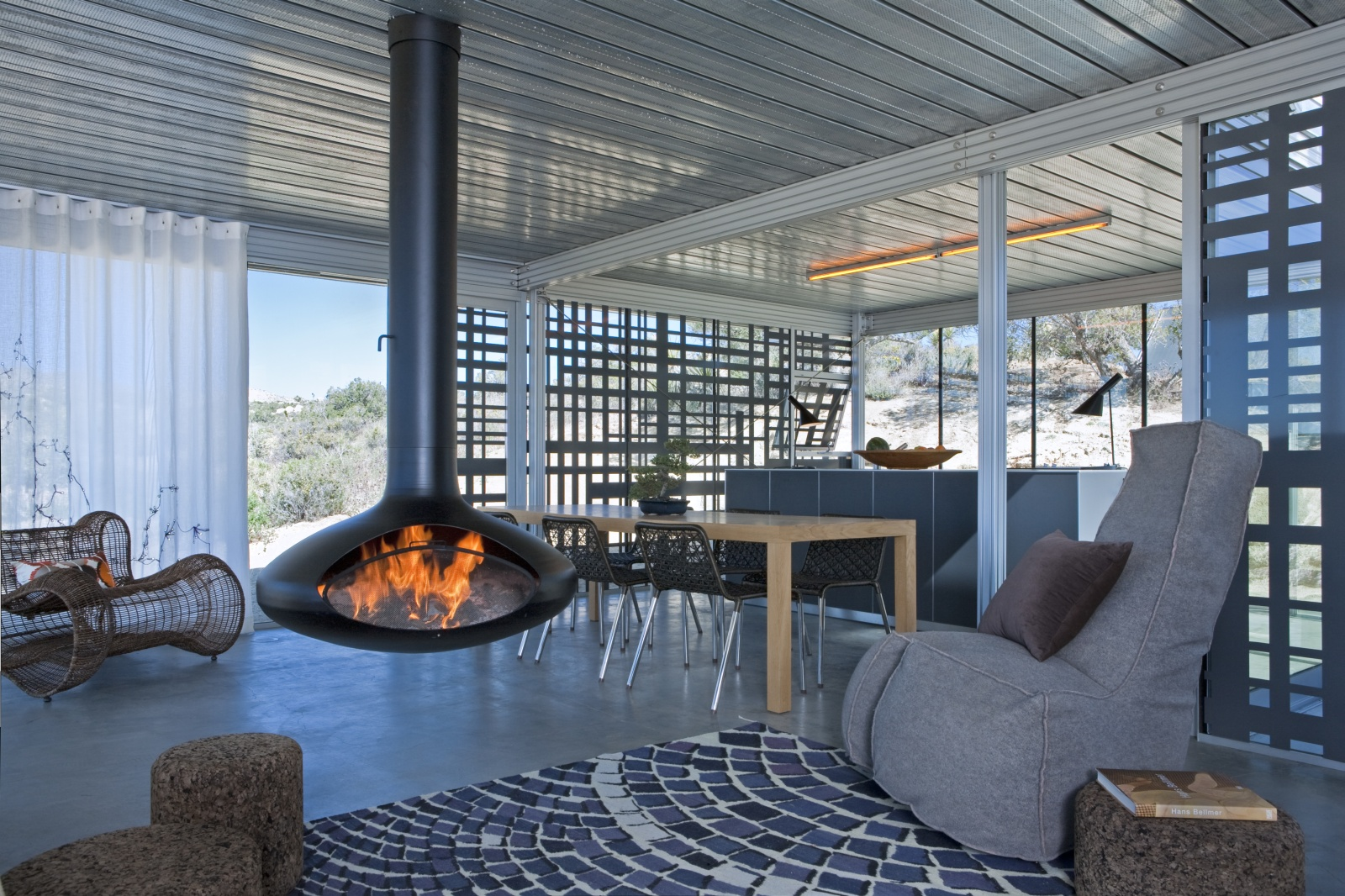 Living room of the Off-Grid itHouse
