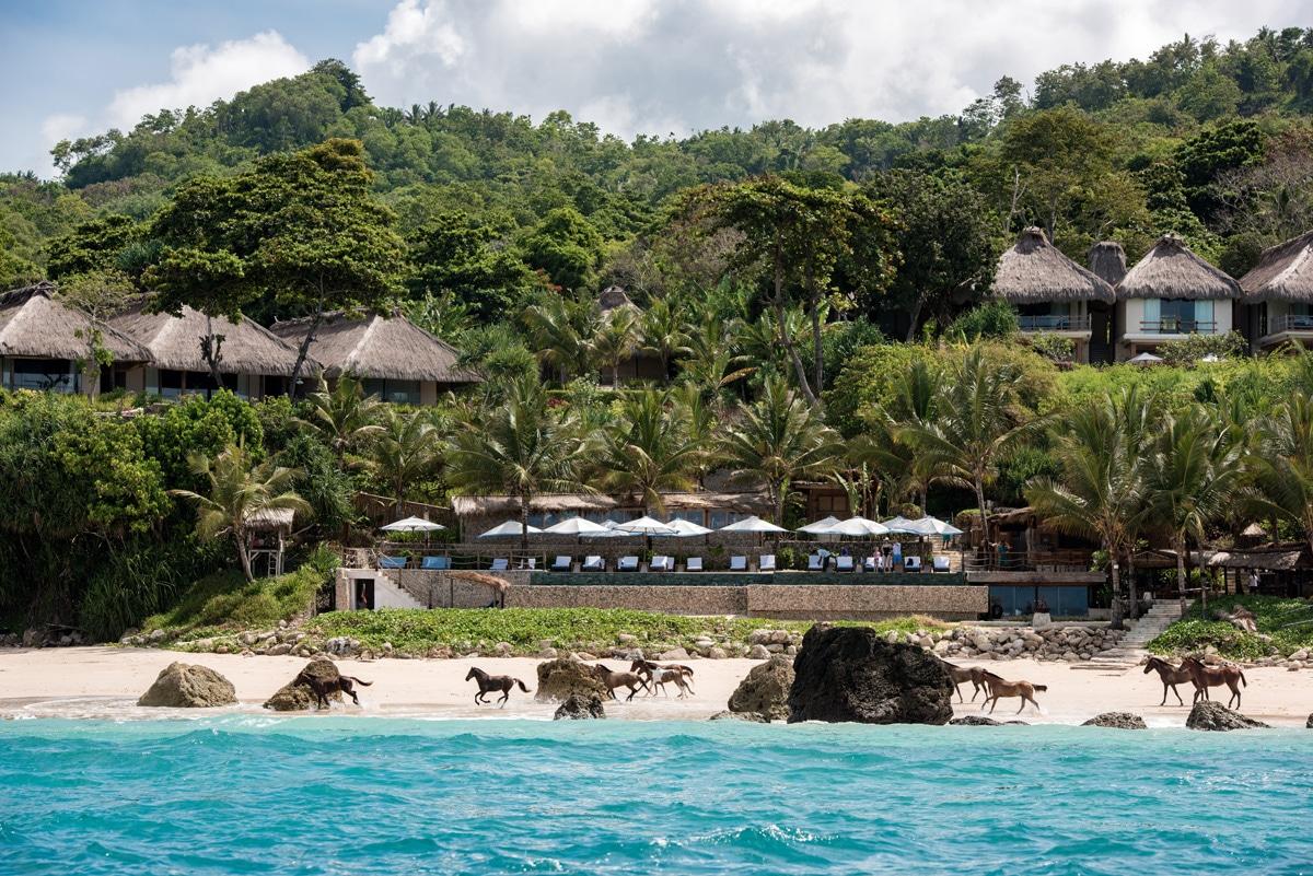 Beachfront at Nihi Sumba Island resort
