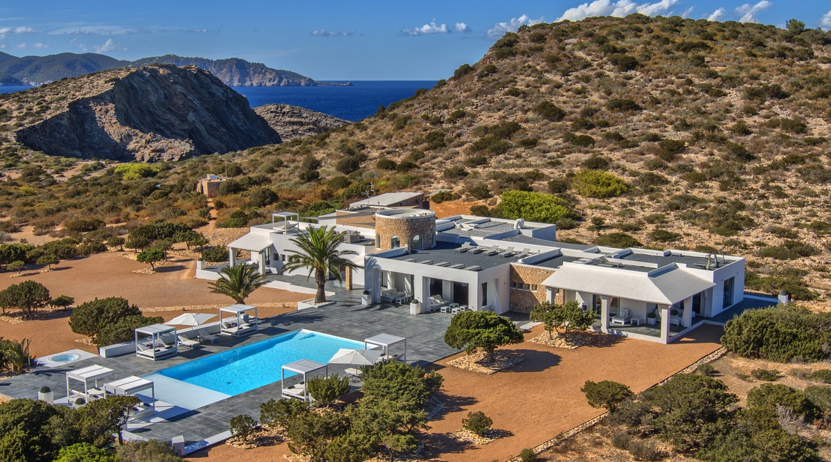 Luxury Private Island Tagomago Villa in Ibiza