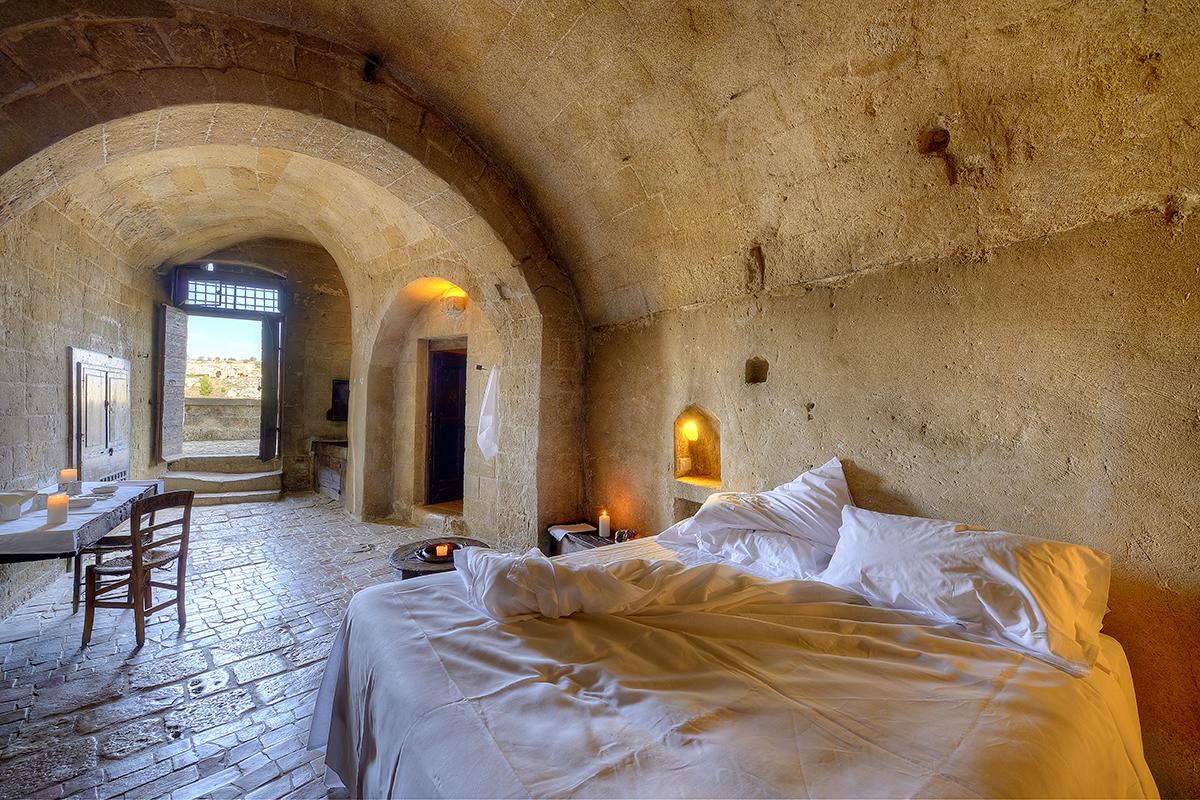 Le Grotte della Civita hotel room