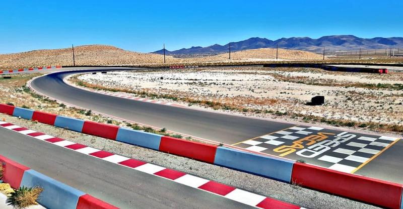 Las Vegas Supercar race track