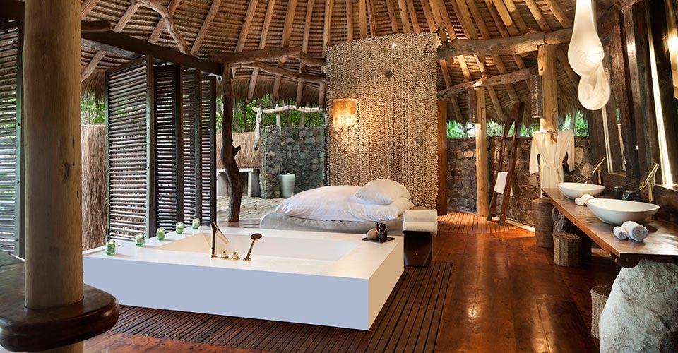 North Island, Seychelles villa room