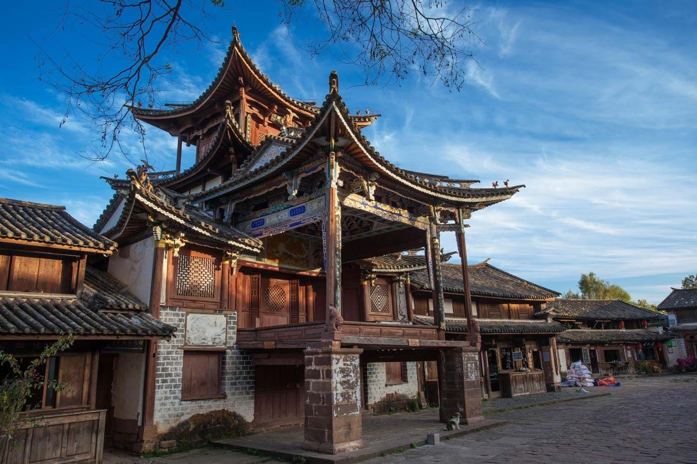 Traditional house on Ancient tea and Horse Road tour