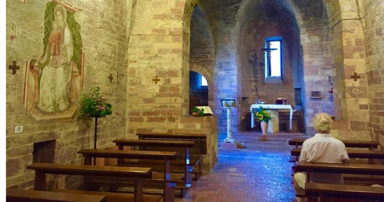 Basilica of Saint Francis during Meditation retreat
