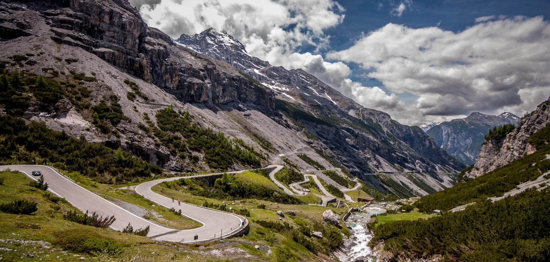 Swiss Alps racing track
