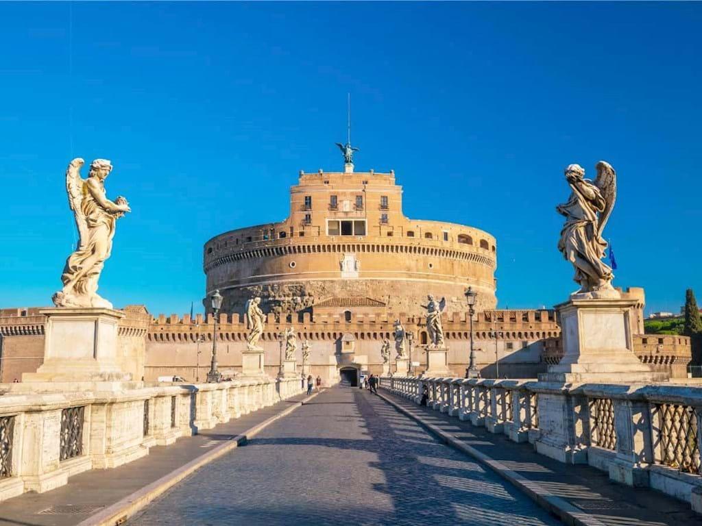 Angels and Demons tour Castel Sant'Angelo