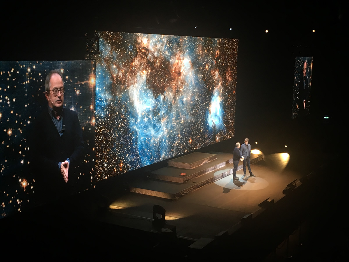 Brian Cox Live with guest Robin Ince