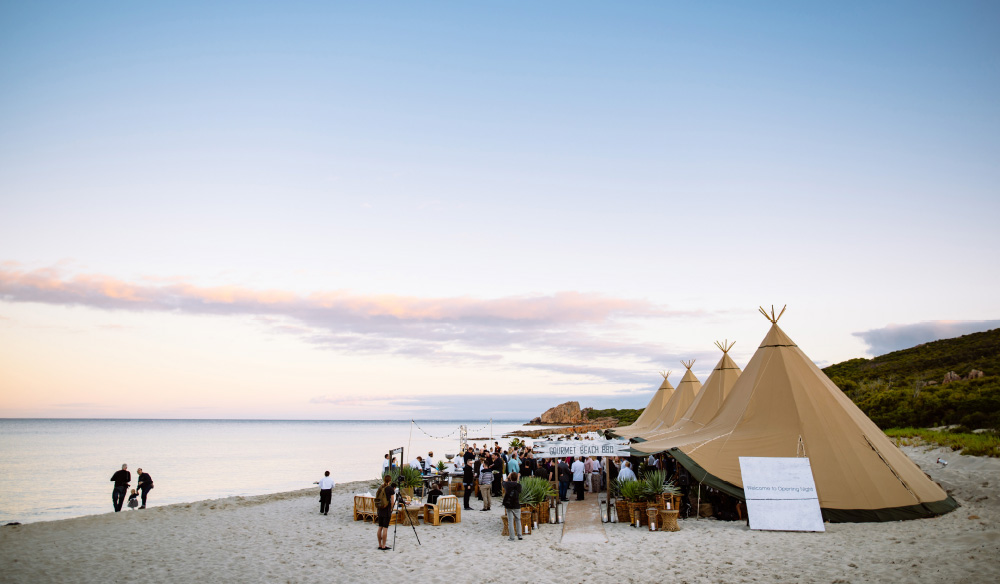 Margaret River Gourmet Escape on the beach