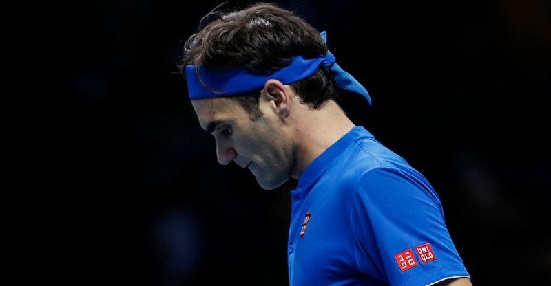 Roger Federer at ATP World Tour Finals