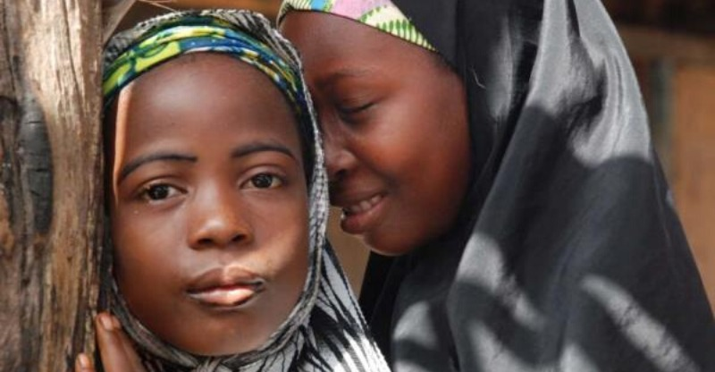 Two Nigerian girls