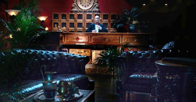escape hotel hollywood reception desk