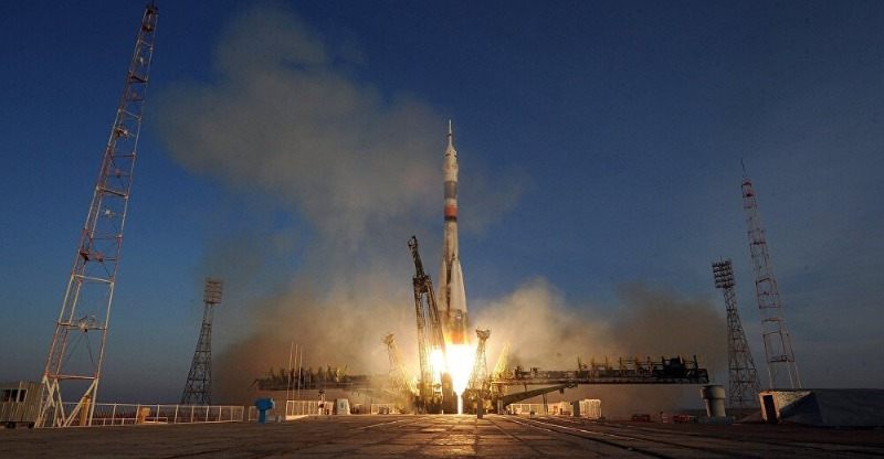 space rocket launch from russia