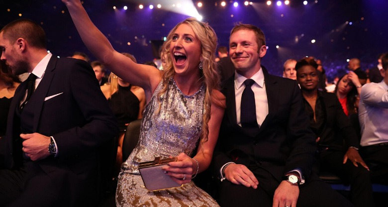 Laura and Jason Kenny at Sports Personality of the Year Awards